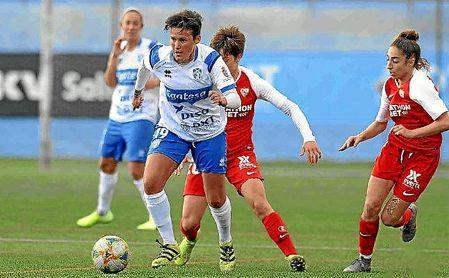 El Tenerife comienza la segunda vuelta con victoria ante Sevilla Femenino.