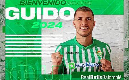 OFICIAL: Guido Rodríguez, nuevo jugador del Betis hasta 2024
