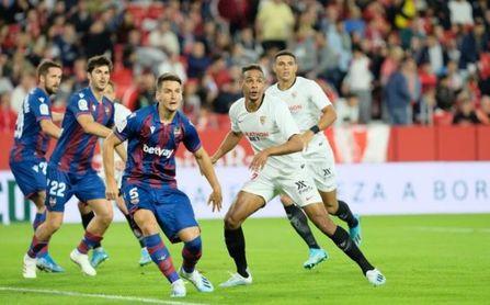 El Sevilla, ante el Levante en casa en la Copa
