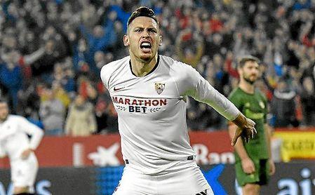 Ocampos se pierde la visita al Santiago Bernabéu por sanción.