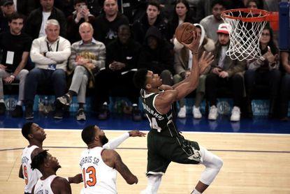 Los Bucks se afianzan y los Pistons logran su mejor anotación