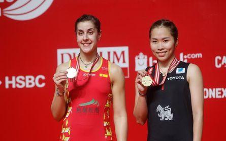 Carolina Marín cae ante Intanon en la final del Master de Indonesia