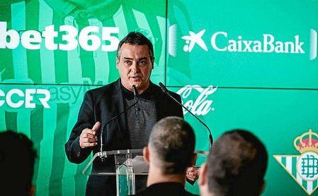 Alexis Trujillo, durante la presentación de Guido Rodríguez.