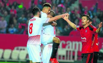 El Sevilla ya eliminó al Mirandés de la Copa en la 15/16.