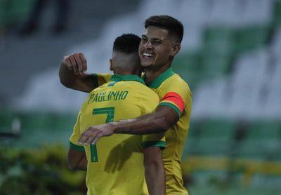 El brasileño Bruno Guimaraes dice que Lyon lo quería más que el Atlético Madrid