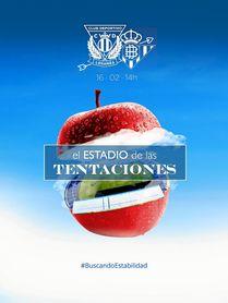 El original cartel del Leganés para recibir al Betis