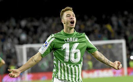 El Betis tasa a Loren en 30 millones y el Barcelona no llega