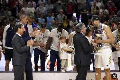 Felipe Reyes engrandece su palmarés con su séptima Copa