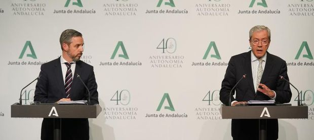 Andalucía moviliza 900 millones para pymes y autónomos y 100 en sanidad.