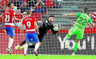 Rui Silva ha exhibido un alto nivel en lo que va de temporada.
