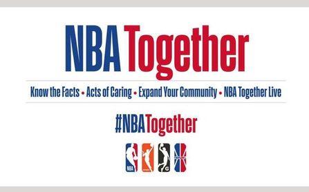 La NBA lanza 'NBA Together' en respuesta al coronavirus