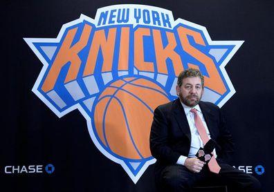 Dolan, dueño de los Knicks y Rangers, da positivo al coronavirus