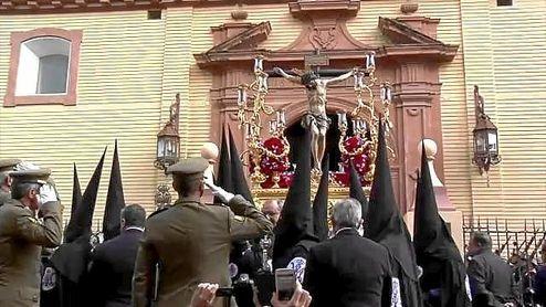 Cristo de la Salud de la Hermandad de San Bernardo.