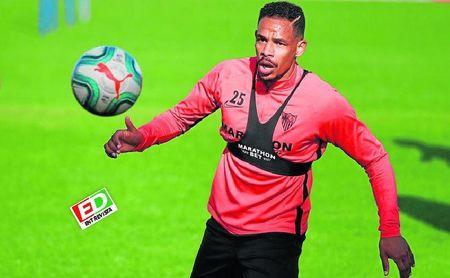 El jugador del Sevilla F.C., Fernando Reges.