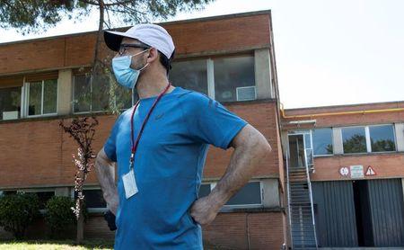García Bragado regresa al CAR tras dar negativo en los tests de coronavirus