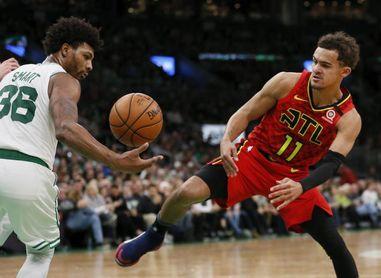 """Trae Young, """"frustrado"""" por ausencia de Hawks en reanudación temporada NBA"""