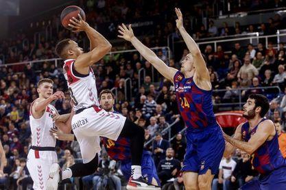 El Bilbao Basket ya ganó al Barça en el Palau para jugar la Copa