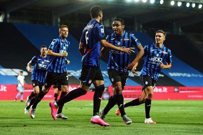 Palomino hace grande al Atalanta contra el Lazio (3-2)