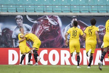 Gladbach y Leverkusen disputan a distancia la cuarta plaza de la Champions