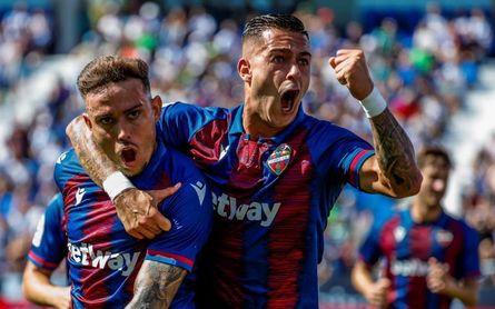 Sergio León quiere romper su doble mala racha ante el Betis