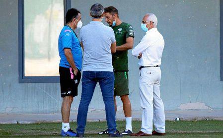 Dos novedades en la lista del Betis para visitar al Levante.