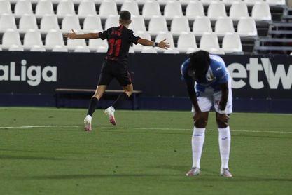 0-3. La seriedad del Sevilla prolonga la agonía de un Leganés en caída libre