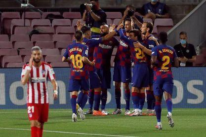 2-2. El Barça se deja otro pedazo de Liga ante el Atlético
