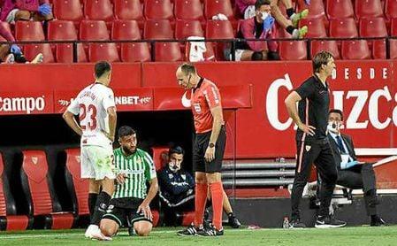 Betis y Sevilla FC ya conocen los árbitros de la próxima jornada.