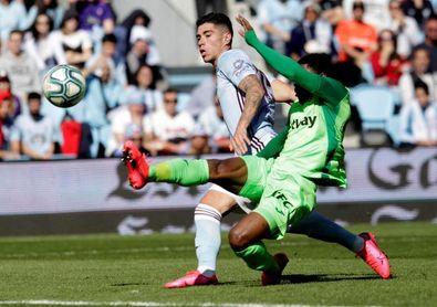 El Celta comunica que el uruguayo Olaza no seguirá en el equipo