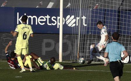 0-0. Osasuna y Getafe empatan en un mal partido