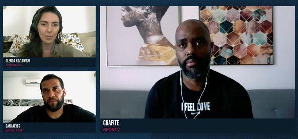 Dani Alves levanta la voz contra el racismo en el WFS