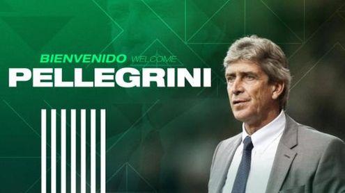 OFICIAL: Manuel Pellegrini, entrenador del Betis para la 20/21