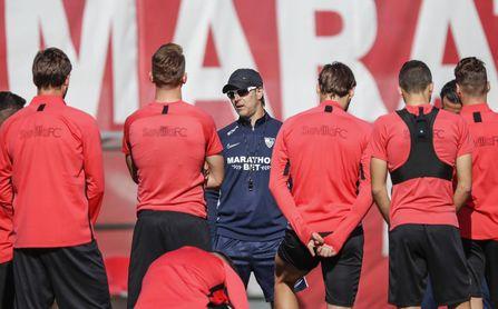 El posible once del Sevilla ante el Mallorca.