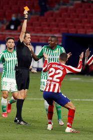 Dos partidos de sanción a Mario Hermoso (Atlético de Madrid)