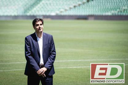 Haro, sobre Pellegrini, el director deportivo y los fichajes.