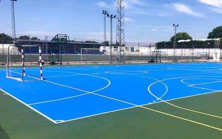 Mejoran las infraestruturas deportivas en Salteras