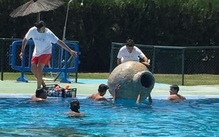 Arqueología submarina en Valencina, combinado deporte y cultura