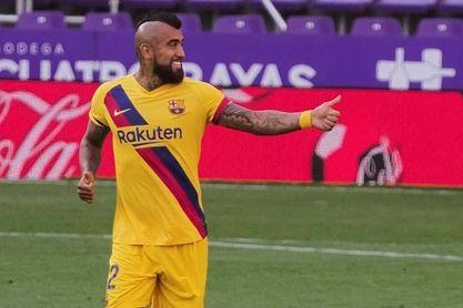 La temporada más goleadora de Arturo Vidal