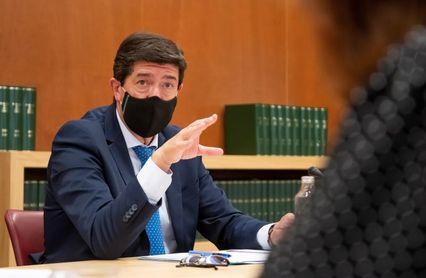 """Marín destaca que Andalucía sea el """"centro neurálgico"""" del motociclismo mundial"""