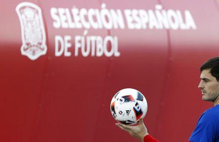 La selección española muestra su agradecimiento a Iker Casillas