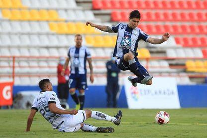1-0. El chileno Dávila anota el gol con el que el Pachuca vence al Querétaro