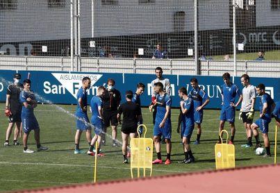 El Osasuna iniciará la pretemporada con tres entrenamientos individuales