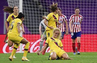0-1. Hamraoui mete al Barcelona en semifinales