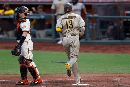 4-3. Machado remolca dos carreras y anota la del triunfo de los Padres sobre los Astros