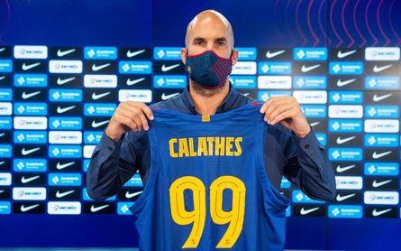 """Jasikevicius: """"Calathes tiene mucha experiencia y se está adaptando muy bien"""""""