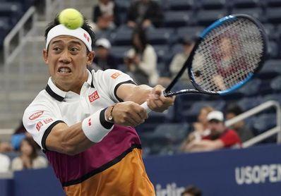 Nishikori da negativo en coronavirus, pero no jugará el Abierto de EE.UU.