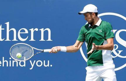 """Medvedev, ante el US Open: """"Me encuentro muy seguro aquí"""""""