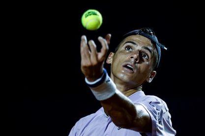 El taiwanés Jung abandona y el argentino Coria pasa a segunda ronda