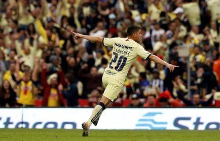 3-1. El paraguayo Sánchez anota en victoria del América sobre Mazatlán FC