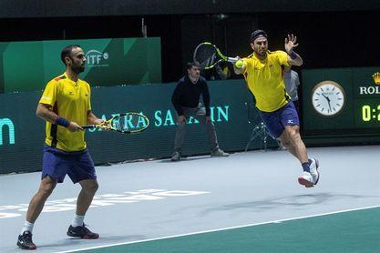 Los colombianos Cabal y Farah pasan a segunda ronda de dobles